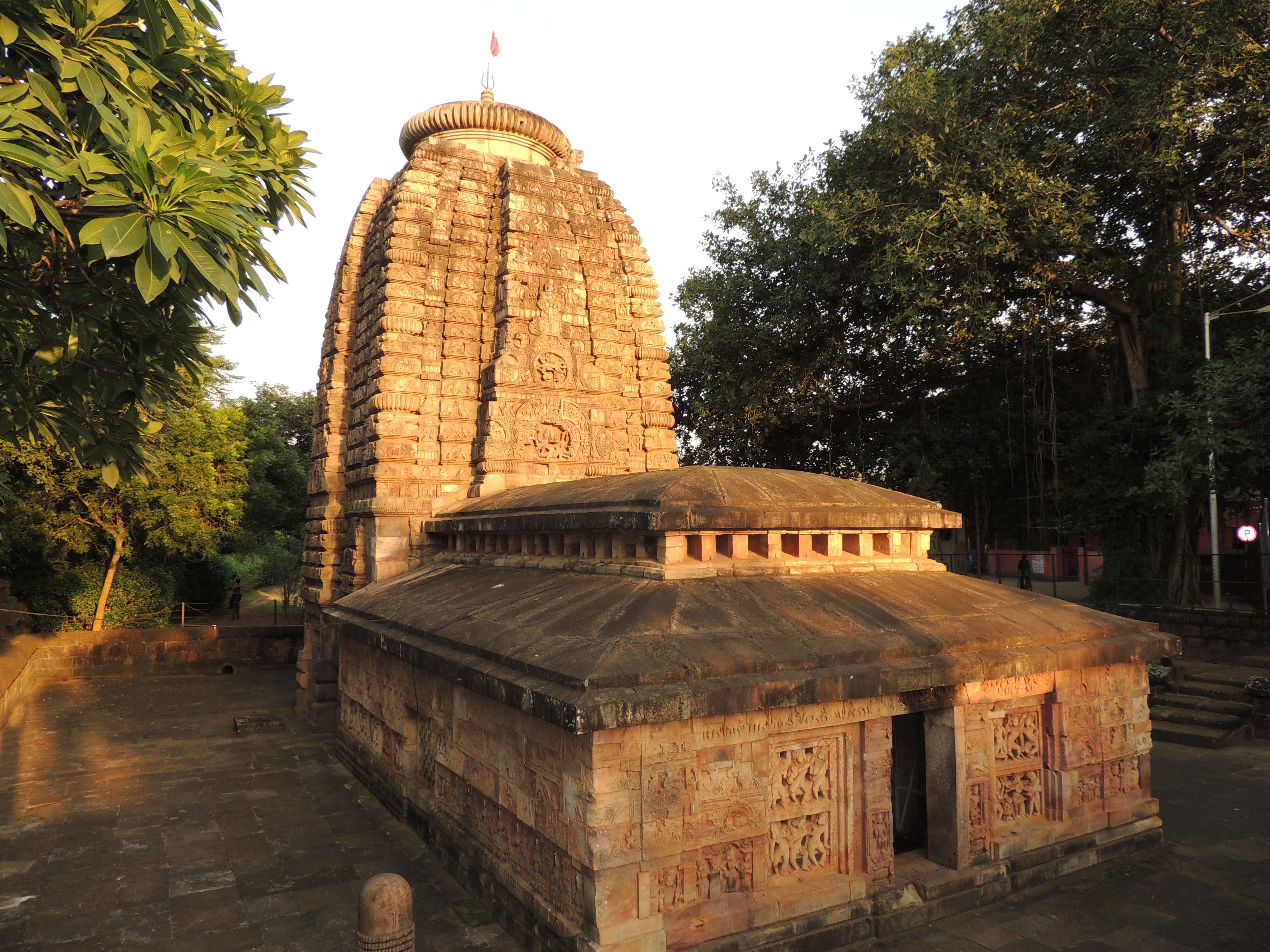 File Parsurameswar Temple Bhubaneswar Odisha India