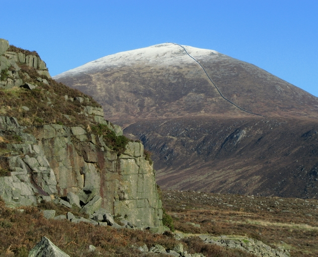 Percy Bysshe and Slieve Donard - geograph.org.uk - 1139452