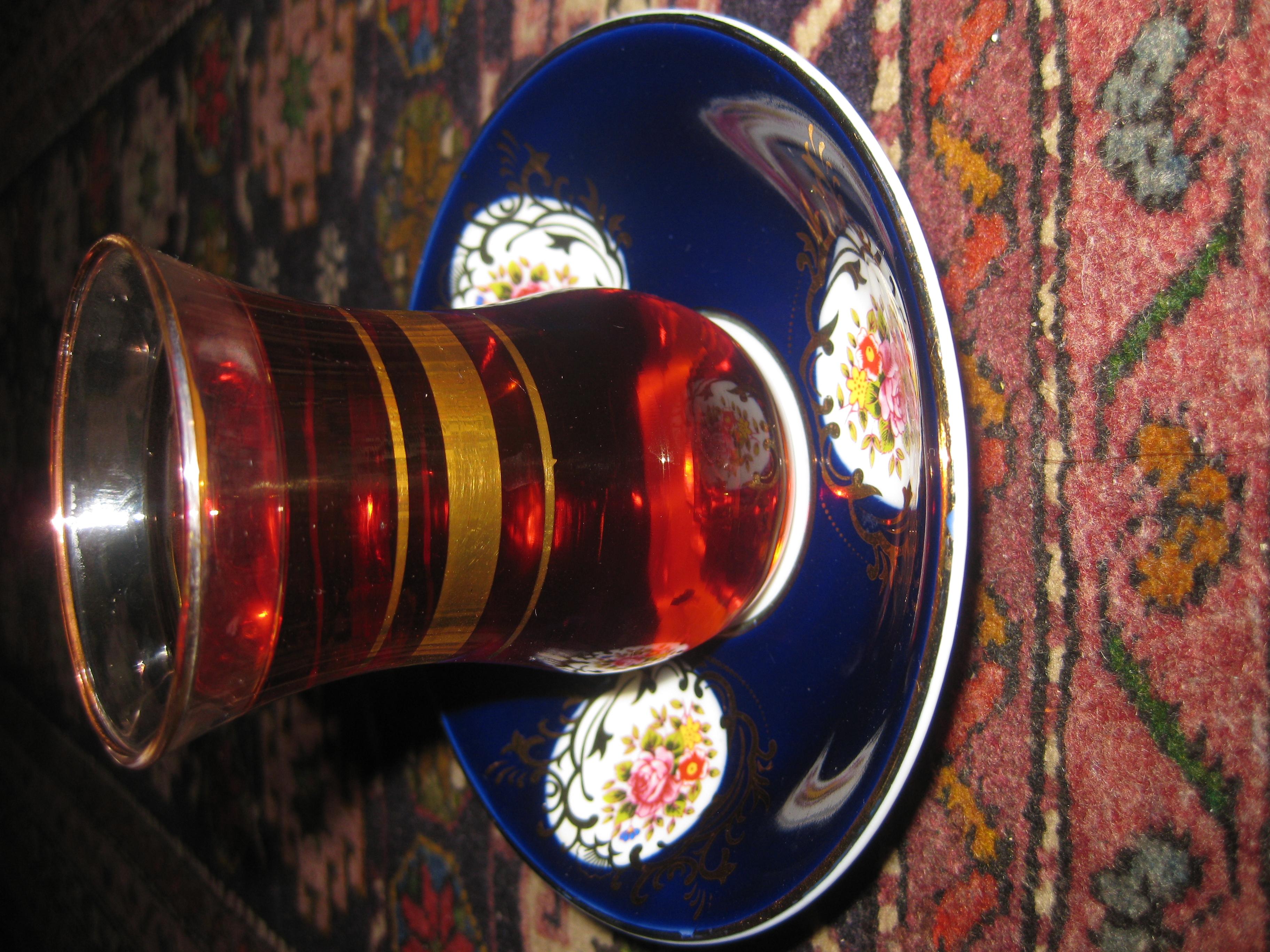 عکس چای روضه