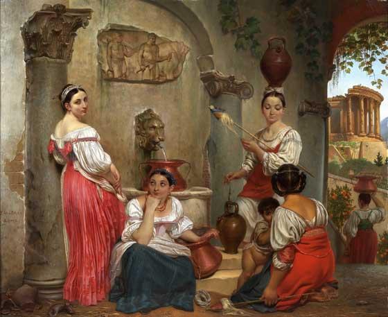 菲利普雅克·布雷比利时画家 Philippe-Jacques van Bree (Belgium, 1786–1871) - 文铮 - 柳州文铮