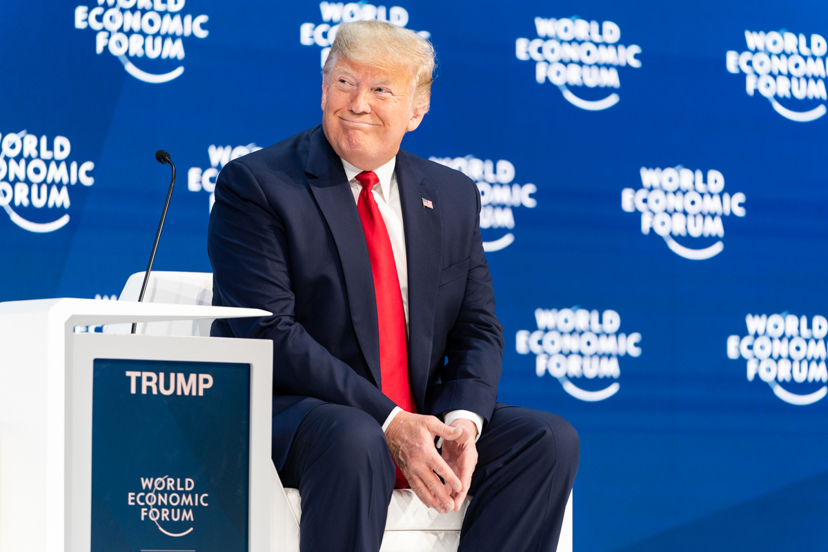File:President Trump at Davos (49419287718).jpg - Wikimedia Commons
