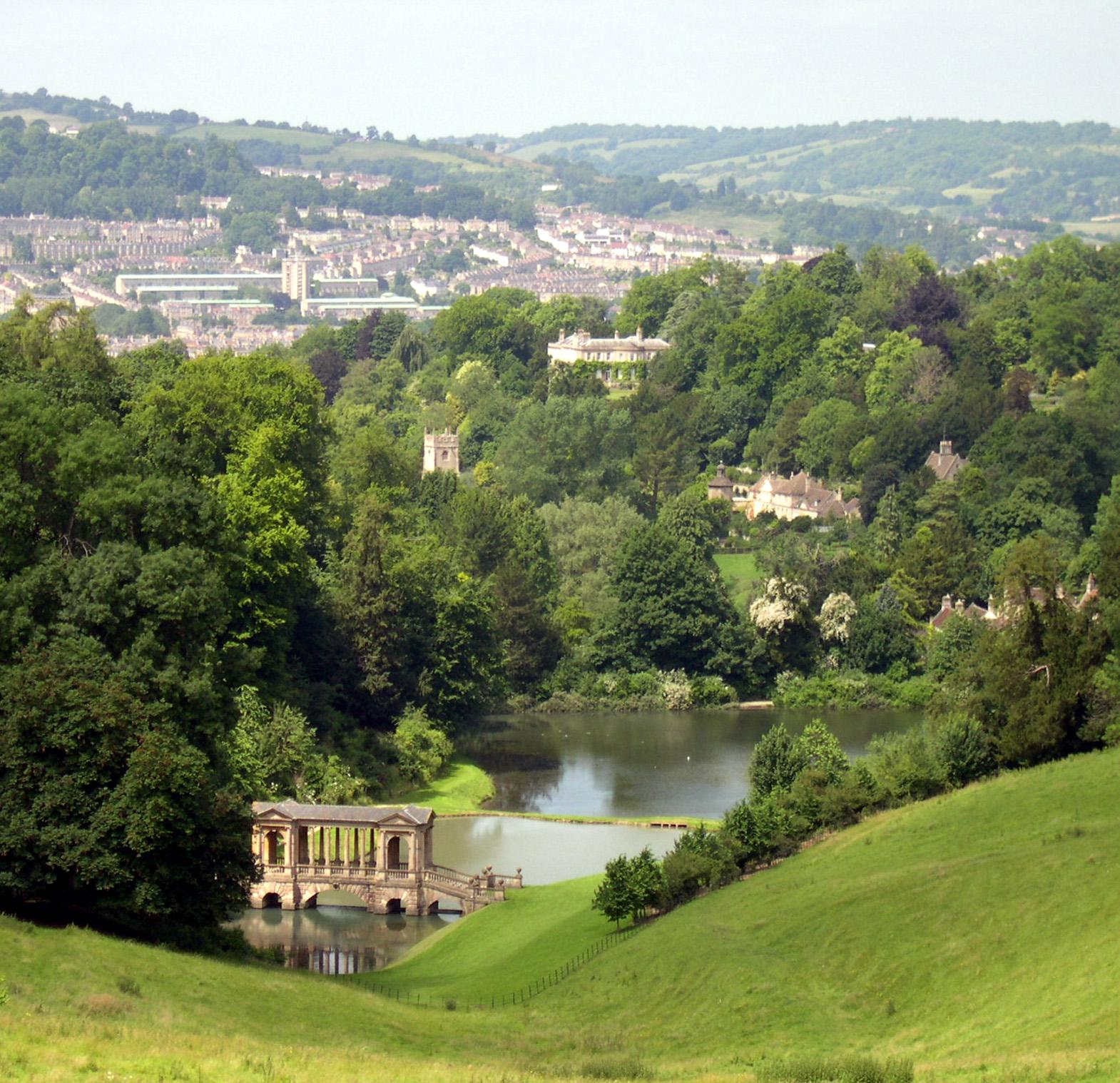 englischer landschaftsgarten - wikiwand, Garten ideen