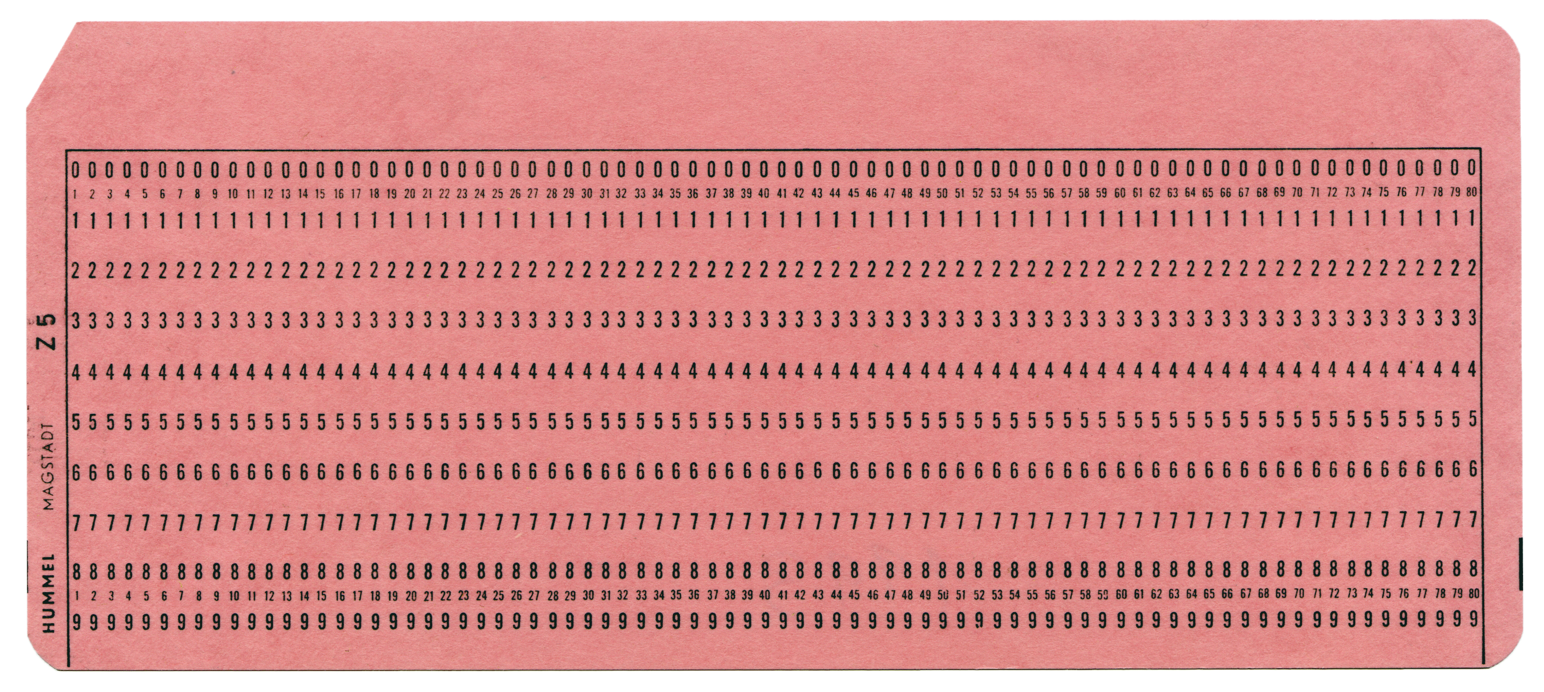 File Punch Card 80 Columns 1 Jpg Wikimedia Commons
