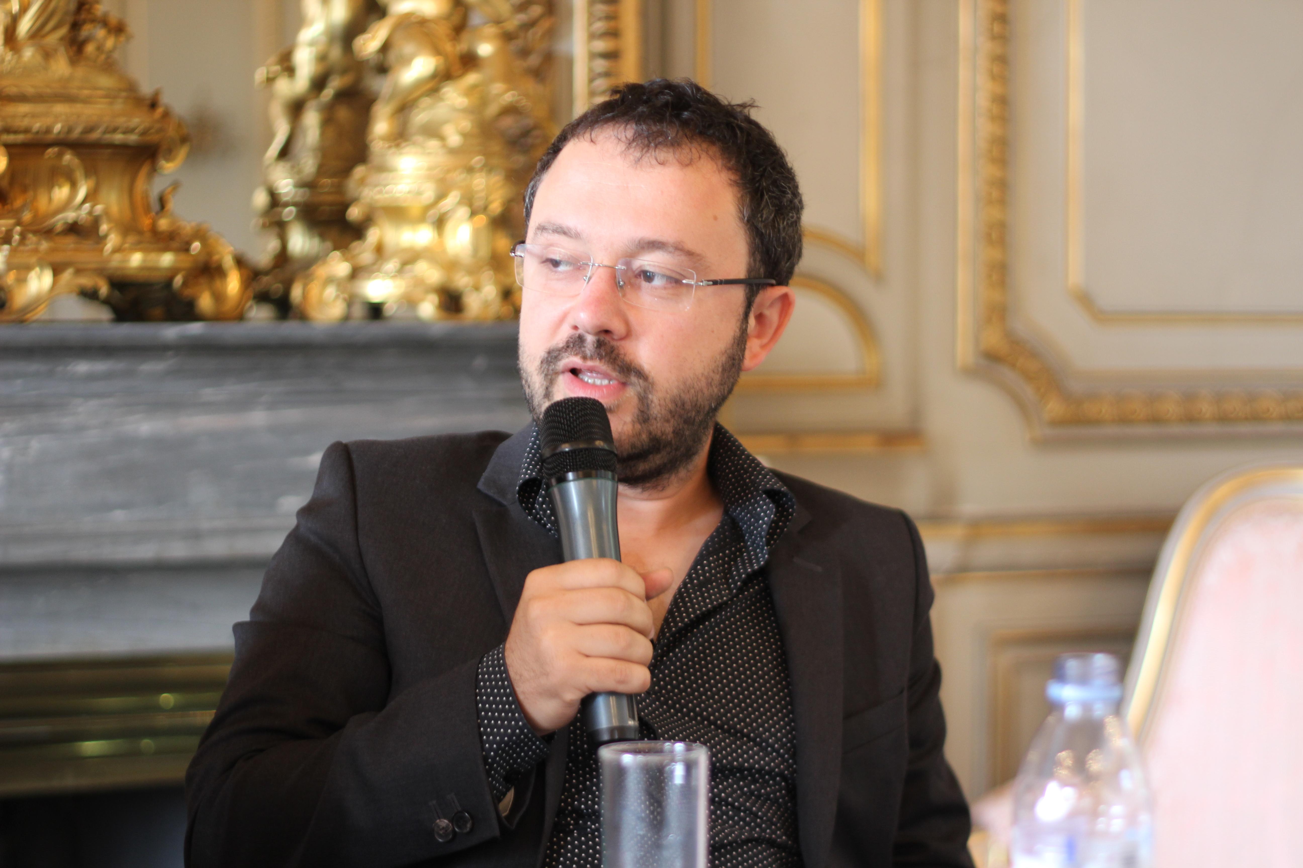 Riad Sattouf in 2014