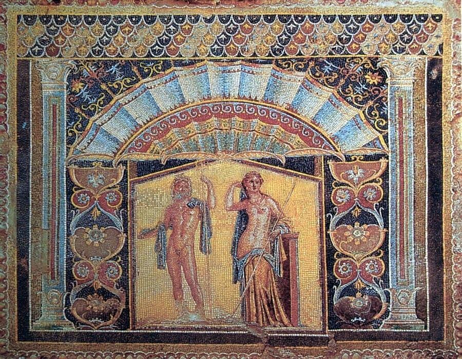 File roman mosaic for Mosaico romano