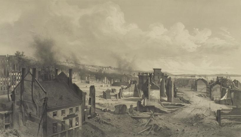 1866 Great Fire Of Portland Maine Wikipedia
