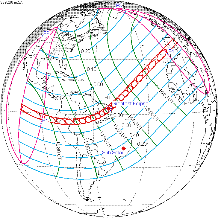 Solar Eclipse Of January 26 2028 Wikipedia