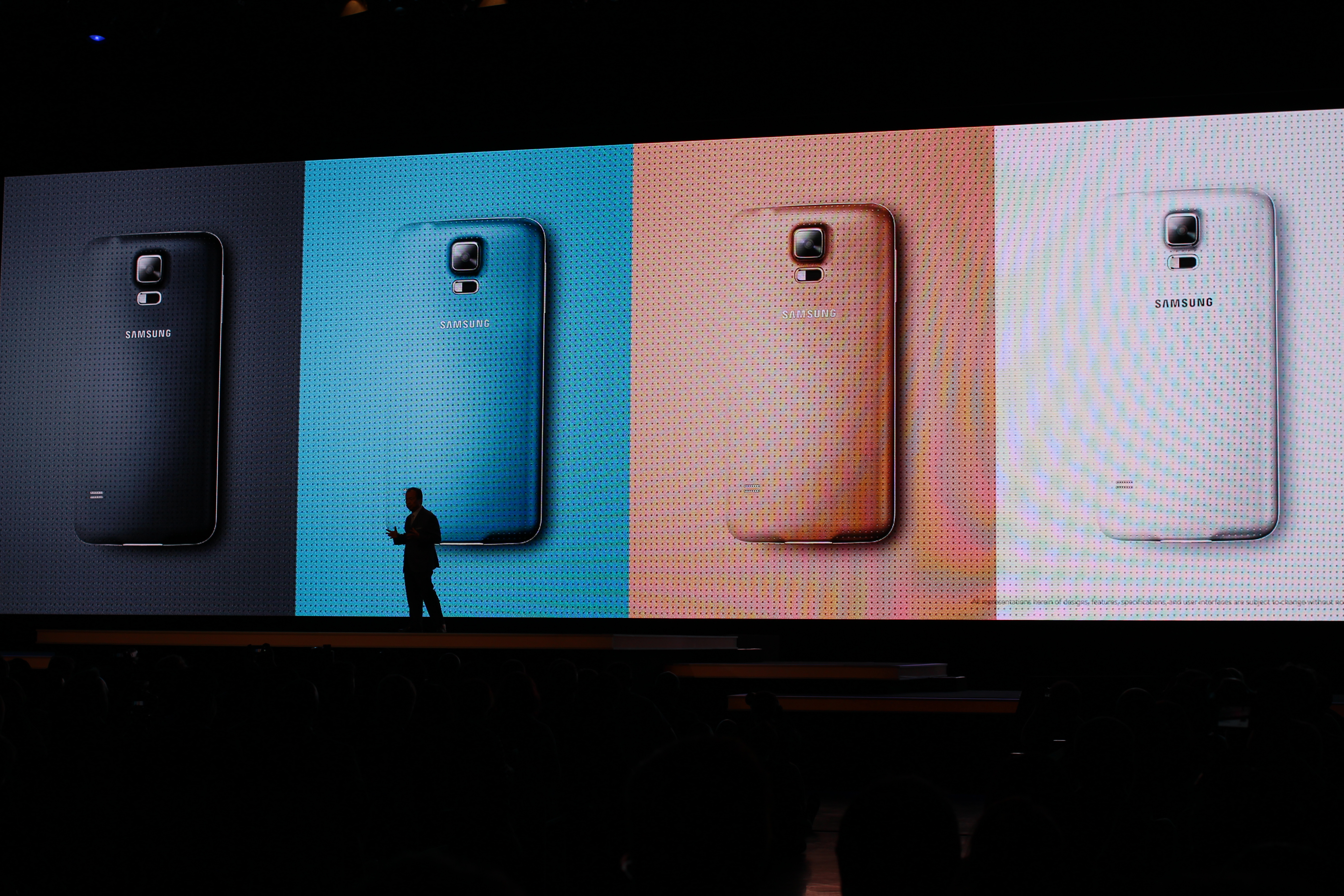 Samsung galaxy s5 unveiled - File Samsung Galaxy S5 Unveiled At The 2014 Mobile World Congress 15059563860