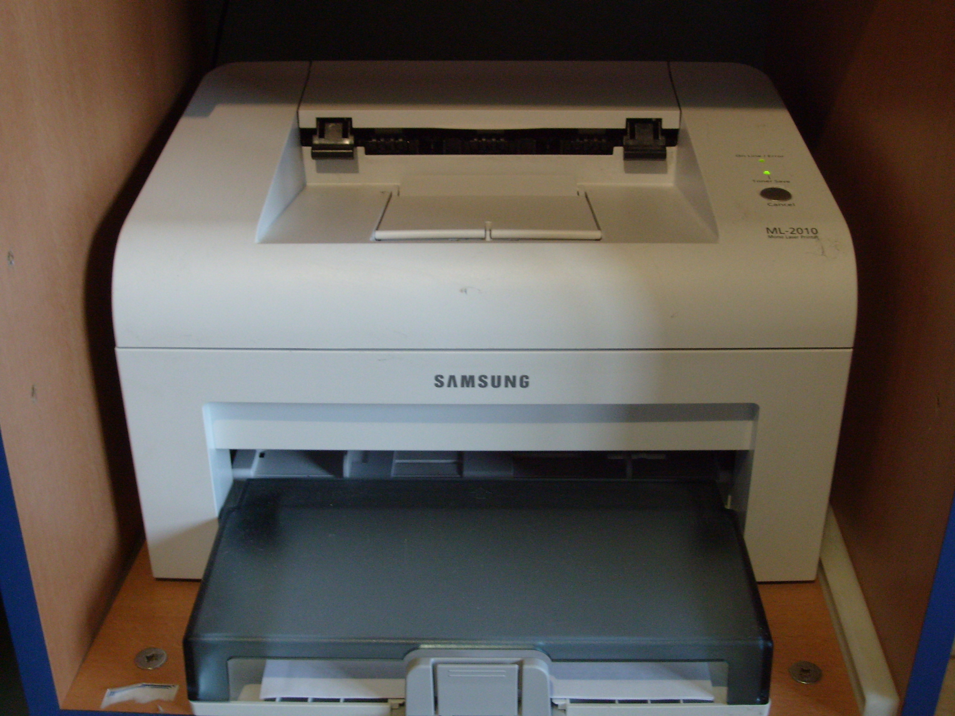 SAMSUNG ML2010 PRINTER DRIVERS FOR WINDOWS XP