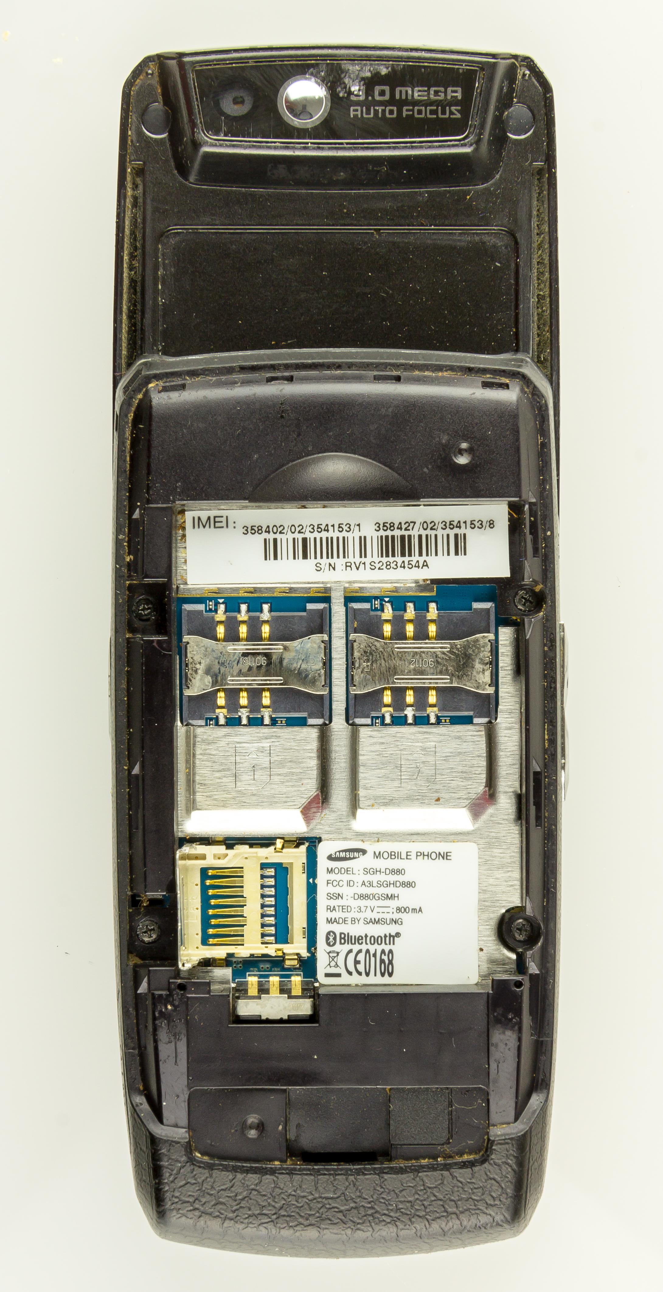 samsung sgh-d880 software