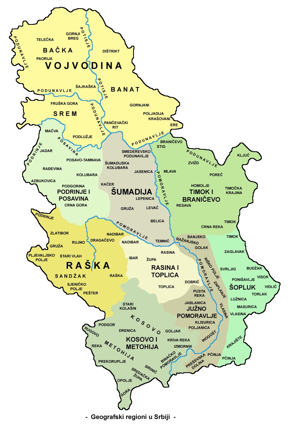 raska mapa Raška oblast — Vikipedija, slobodna enciklopedija raska mapa