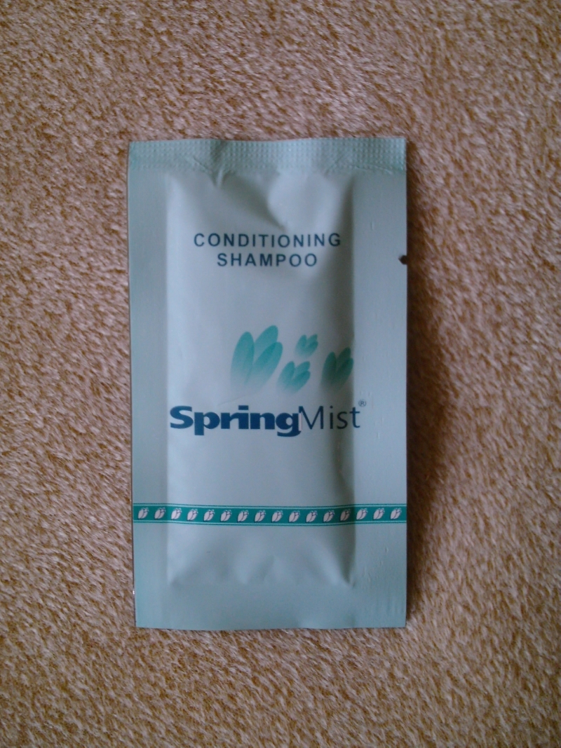 carpet cleaning & conditioning shampoo sachet