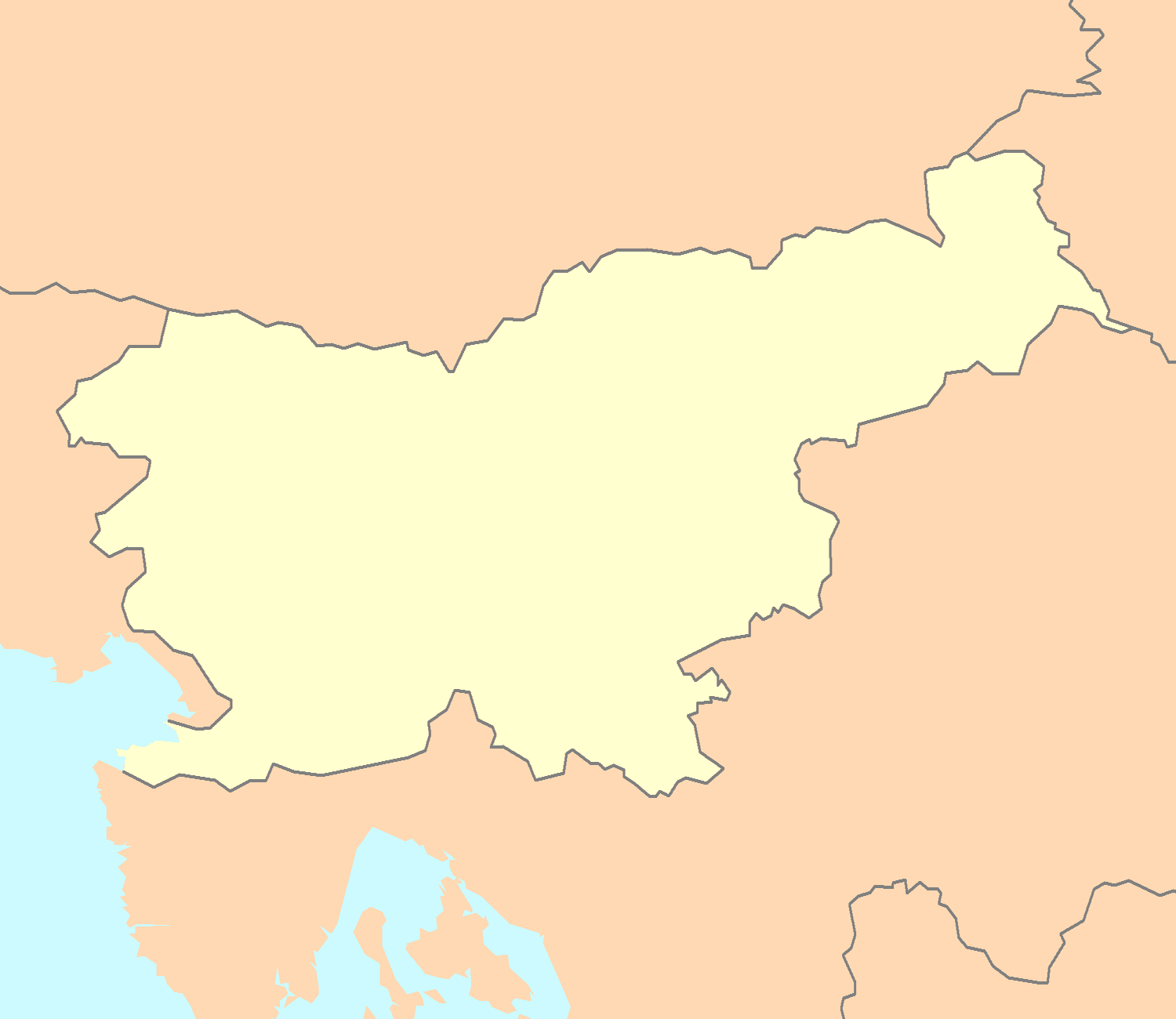 FileSlovenia map blankpng Wikimedia Commons