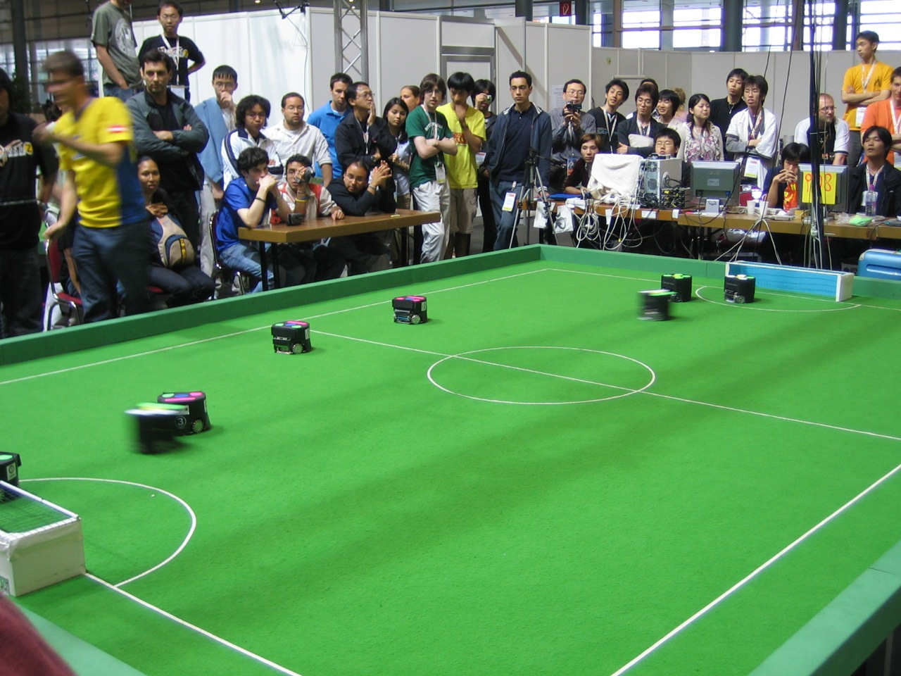 Robots compete to be the best