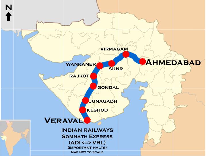 Ahmedabad Somnath Intercity Express Wikipedia
