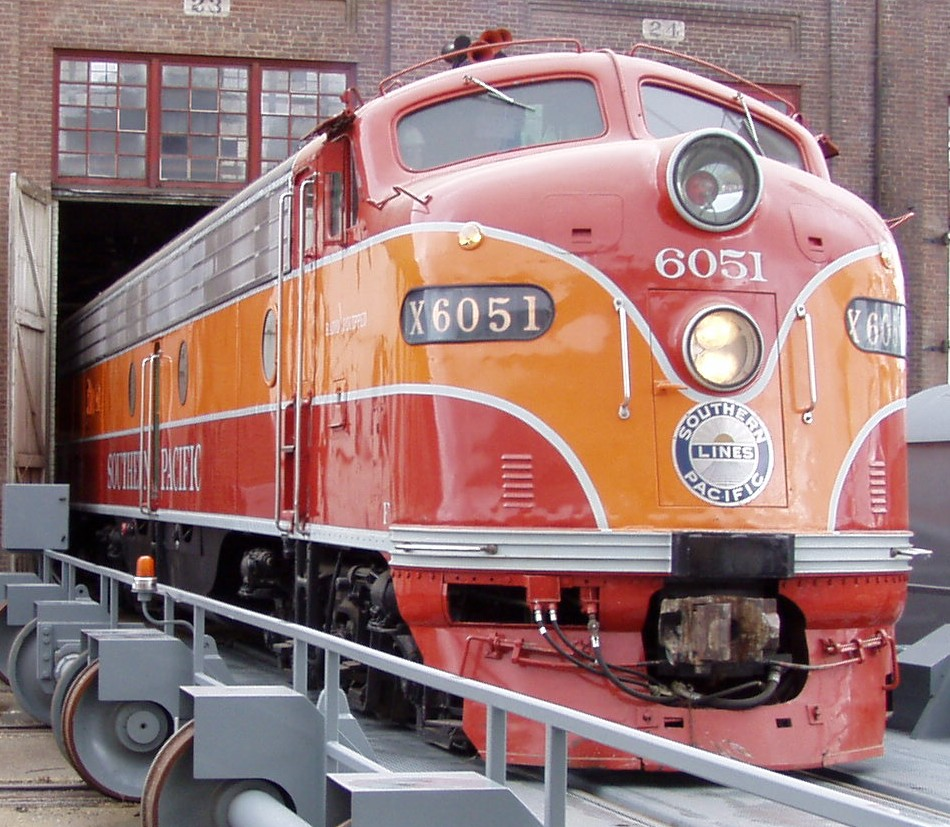 Southern Pacific 6051