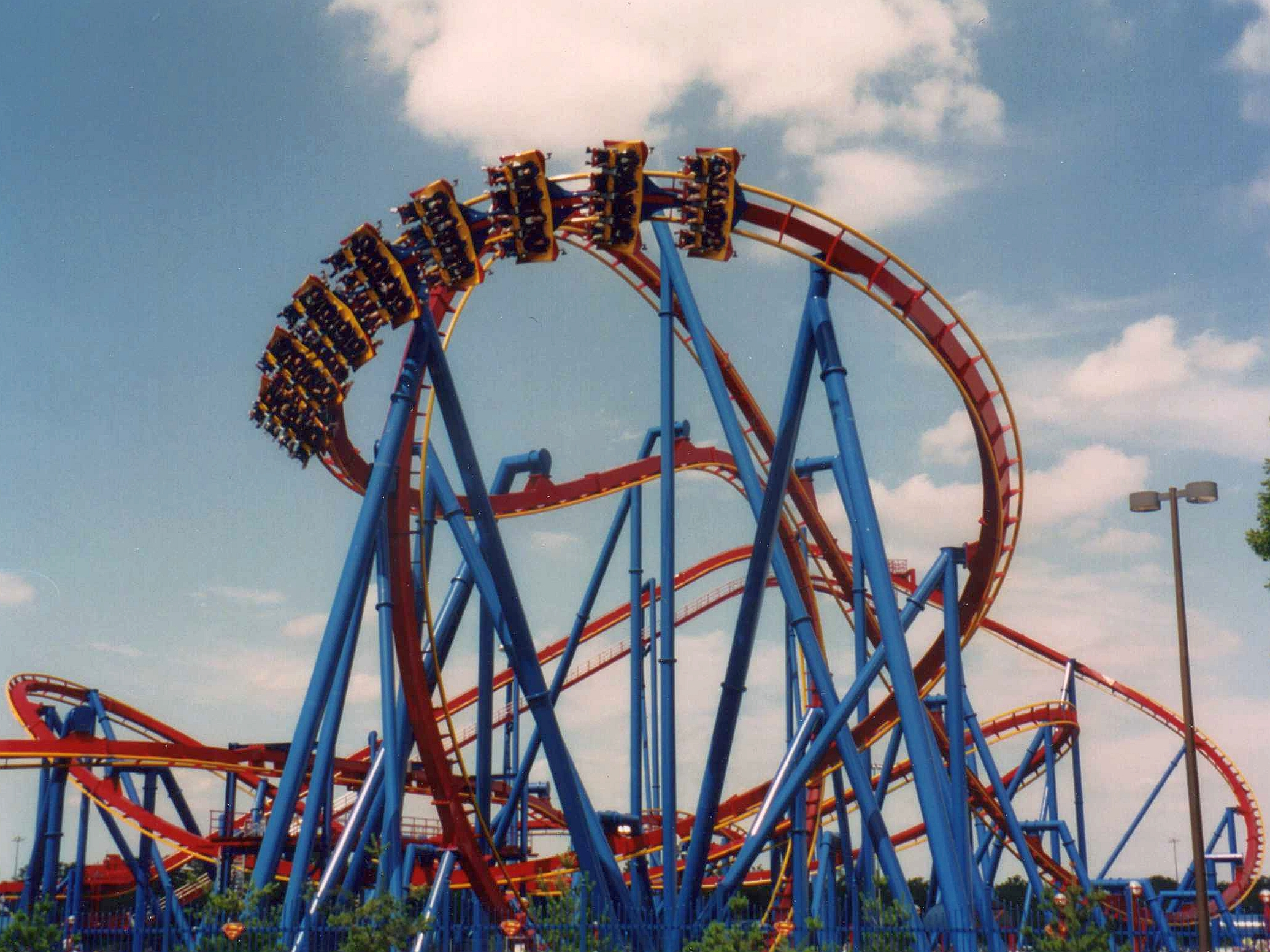Description Superman Ultimate Flight  Six Flags Great Adventure jpg r3ofUvdN