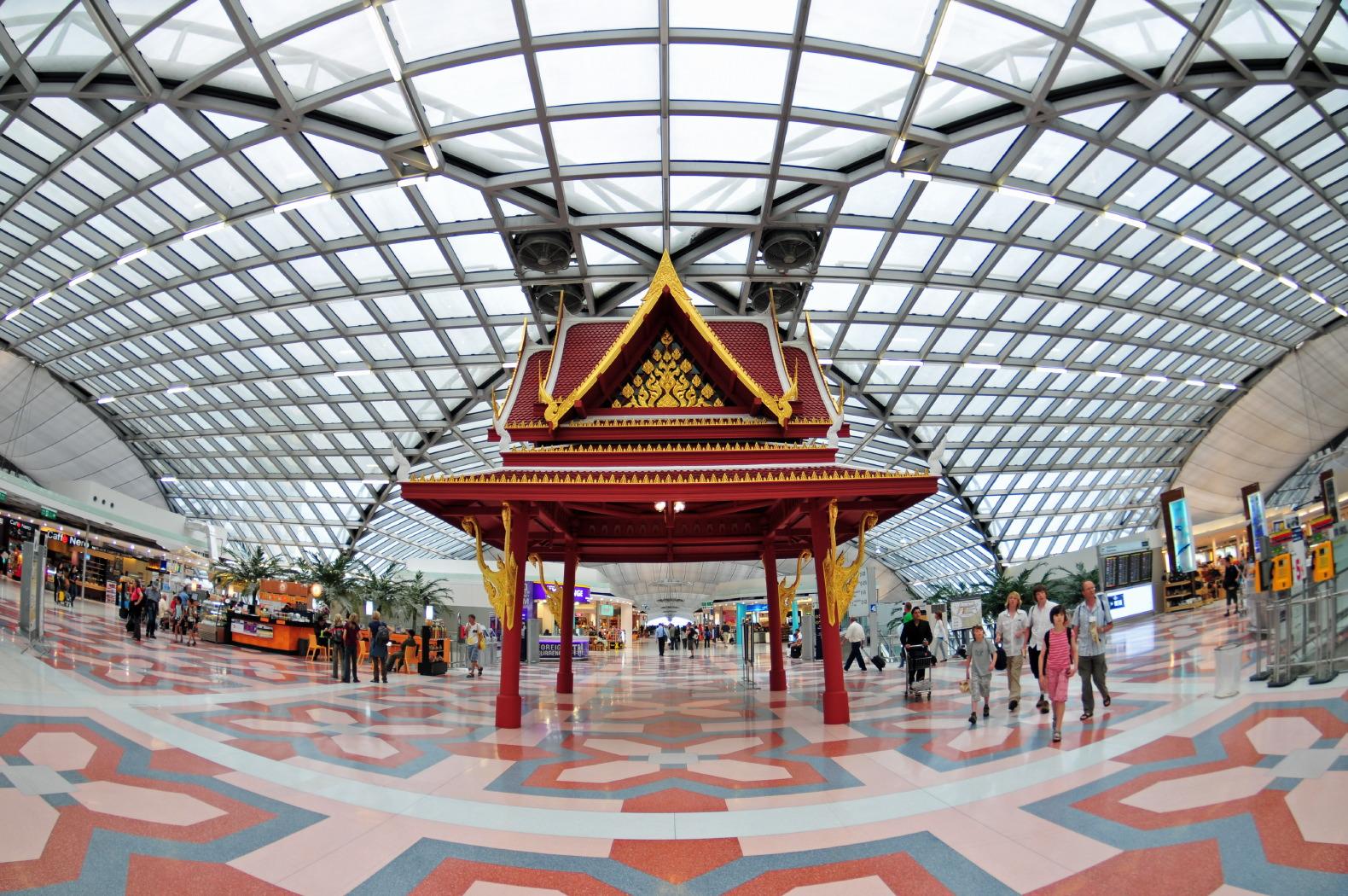 Image result for Suvarnabhumi Airport - Bangkok, Thailand