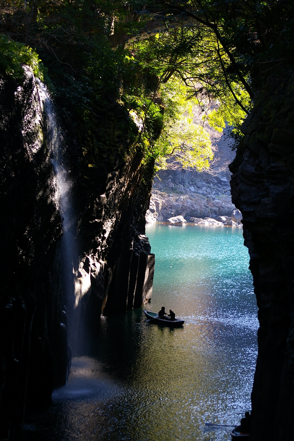 Takachiho Japan  city images : Takachiho gorge Wikimedia Commons