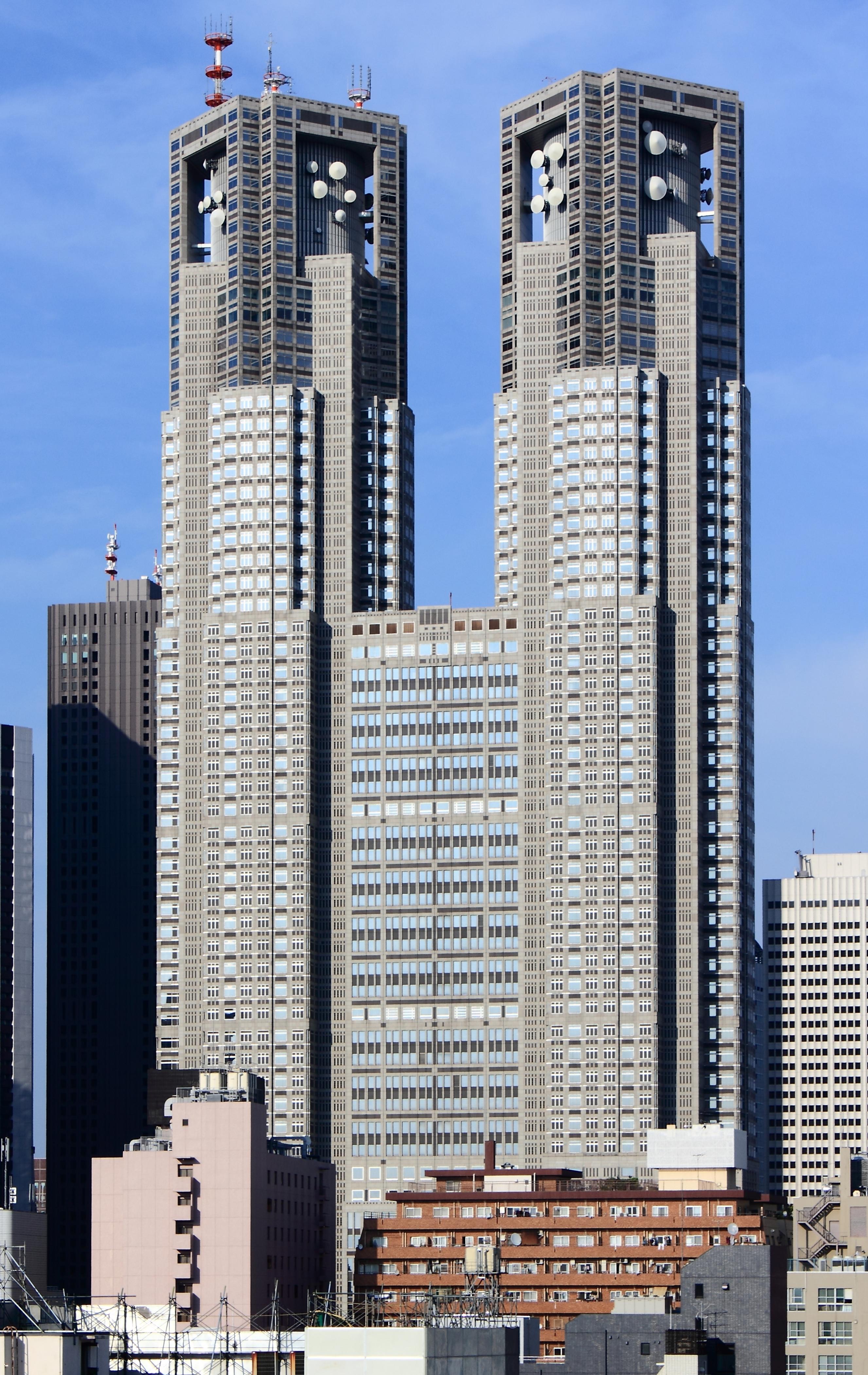 Rezultat iskanja slik za tokyo metropolitan government building