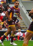 Carroll playing for the Broncos in 2008 Tonie Carroll.JPG