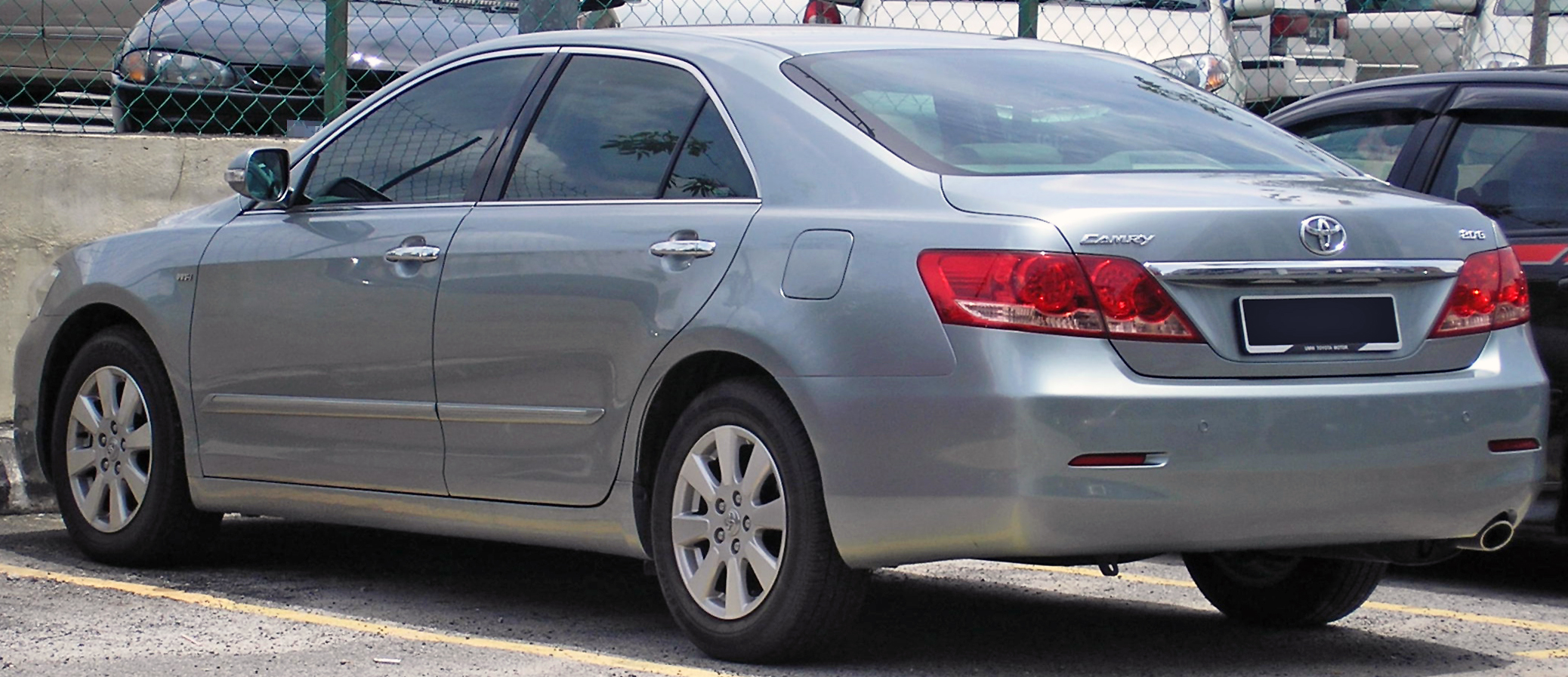 File Toyota Camry Sixth Generation Rear Serdang Jpg Wikimedia Commons