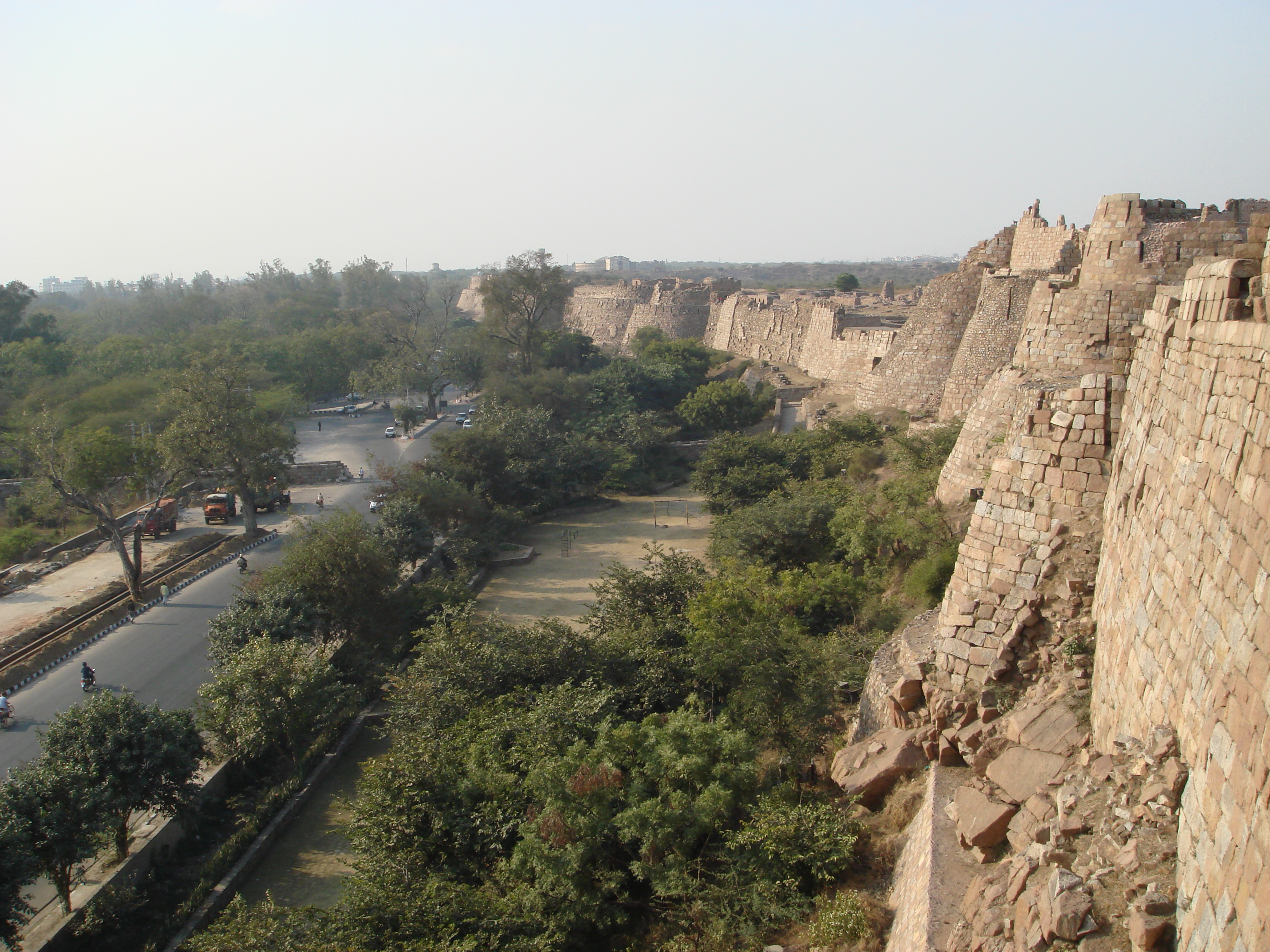 Tughlakabad Fort at New Delhi