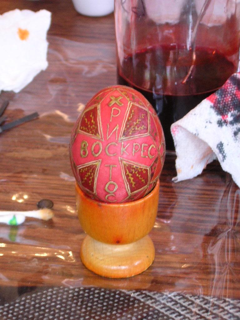 Random Ramblings: The Origin of Easter Eggs | bluelillyvintage Easter Egg Representing Jesus