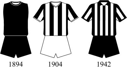 Evolução dos uniformes do Botafogo de Futebol e Regatas – Wikipédia ... f105fd6918939