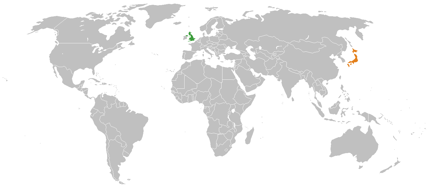 Japan location on world map why does britain need military cooperation with japan gumiabroncs Gallery