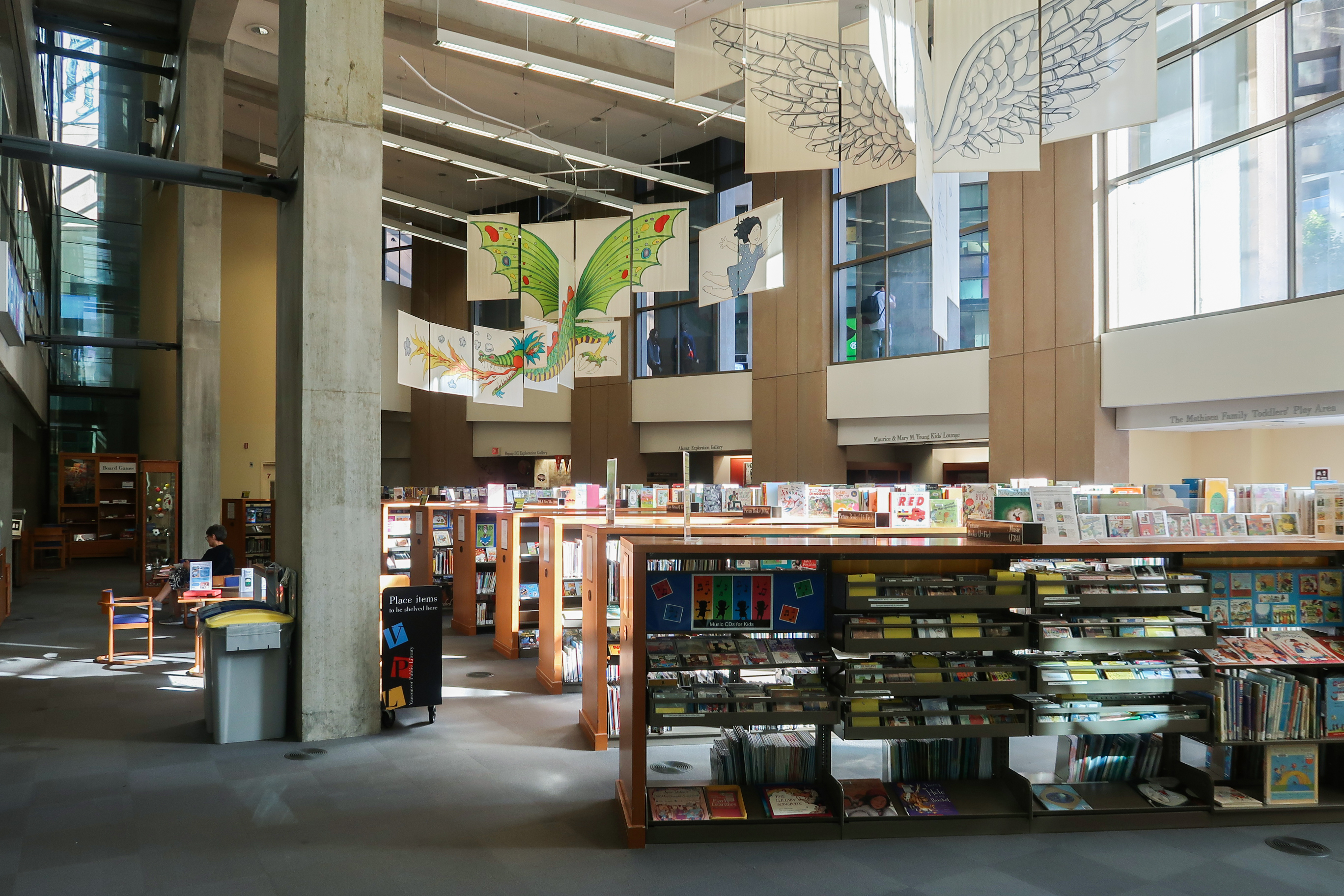 File:Vancouver Public Library Level 1 Children Library 2018.jpg - Wikimedia  Commons