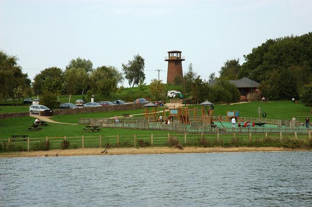 Visitor Centre, Staunton Harold Reservoir - geograph.org.uk - 258552