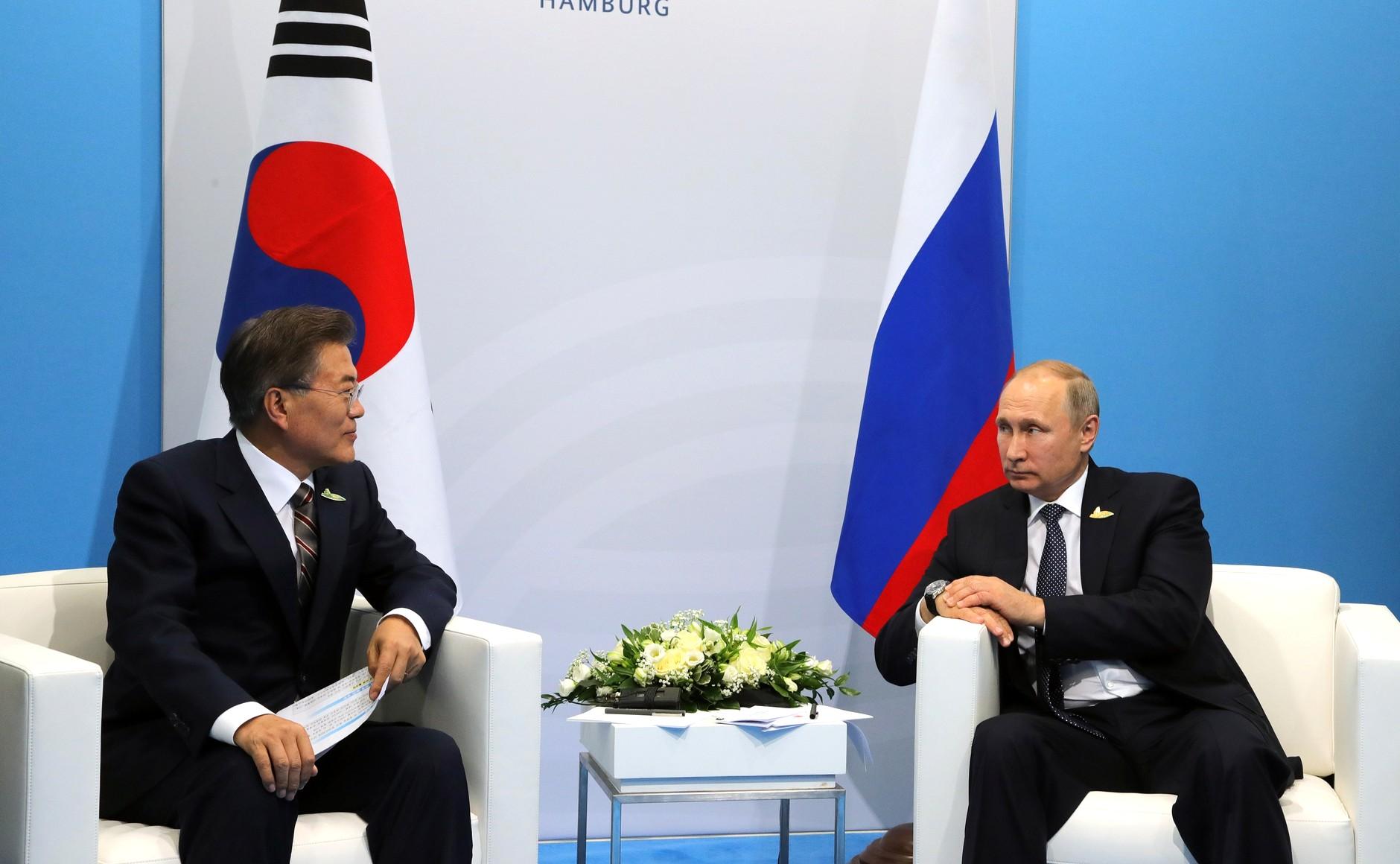 Сеул предложил Москве навести «девять мостов» сотрудничества