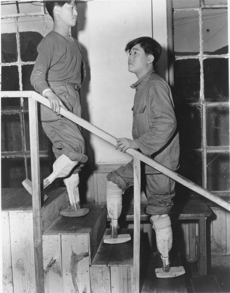 Child Size Crutches The Kid Dies