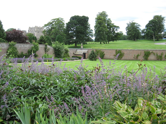 Walled garden at Raby Castle - geograph.org.uk - 1403797