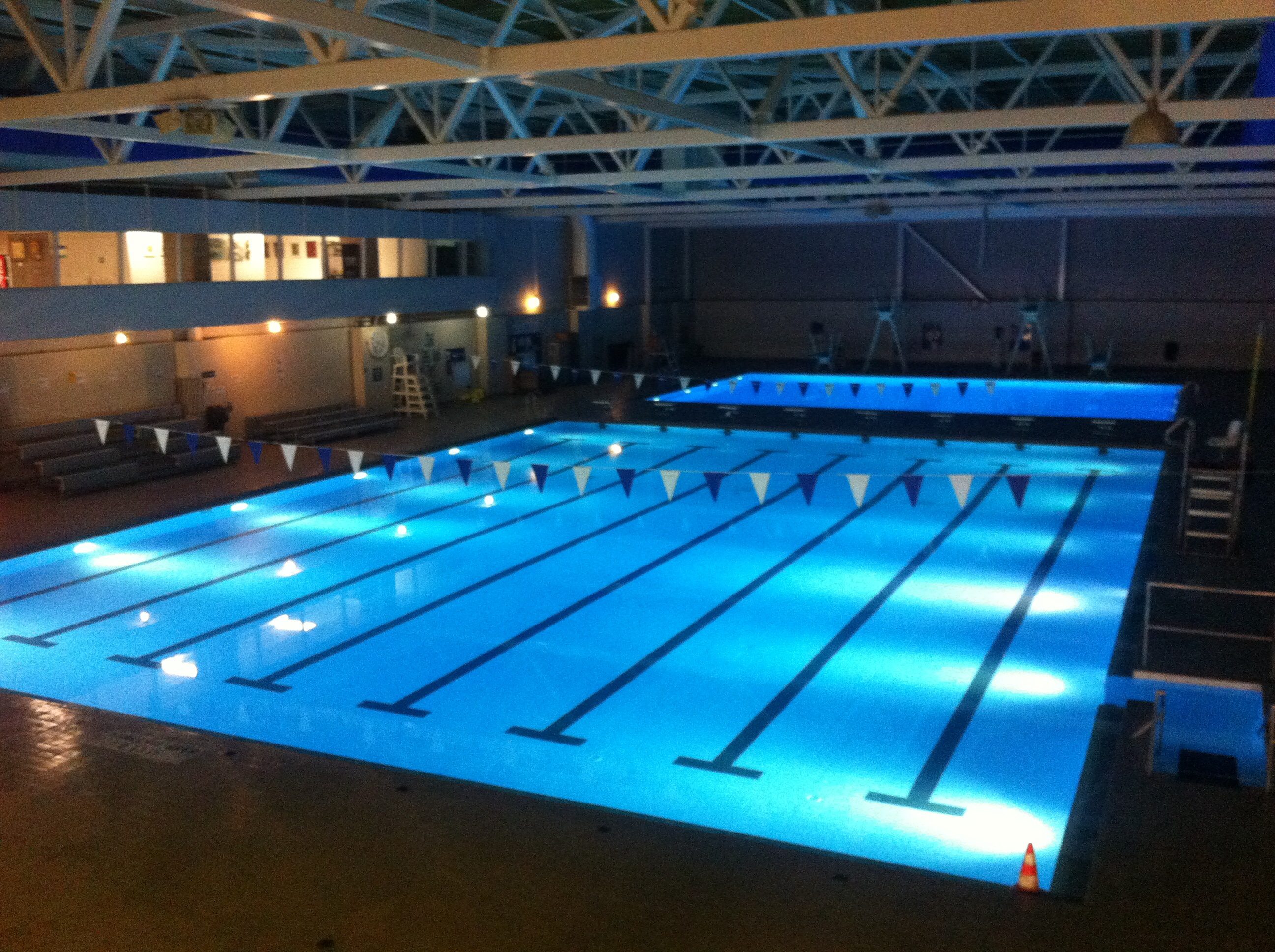 filewalter baker sports center lap pooljpg - Olympic Swimming Pool 2013