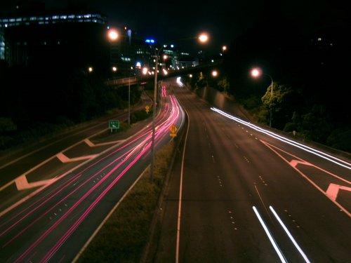 Wellington_Motorway_at_night
