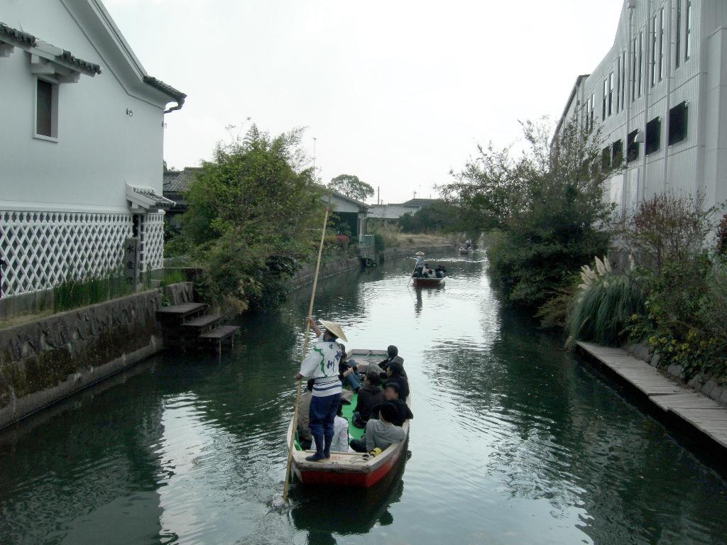Yanagawa kawakudari