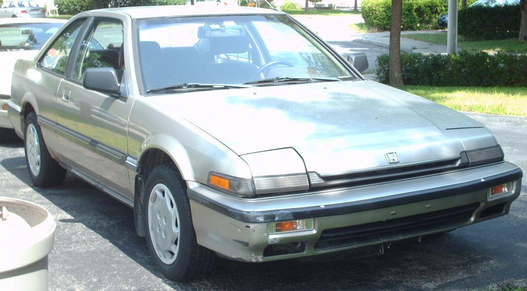 File 89 Honda Accord Coupe Jpg Wikimedia Commons