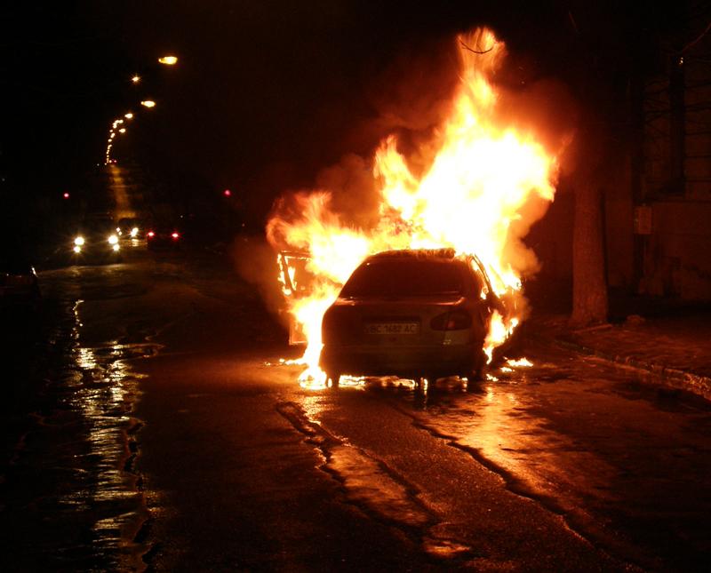 Car Explosion In Mesa Arizona November