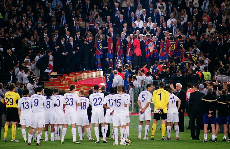 champions league finale 2009