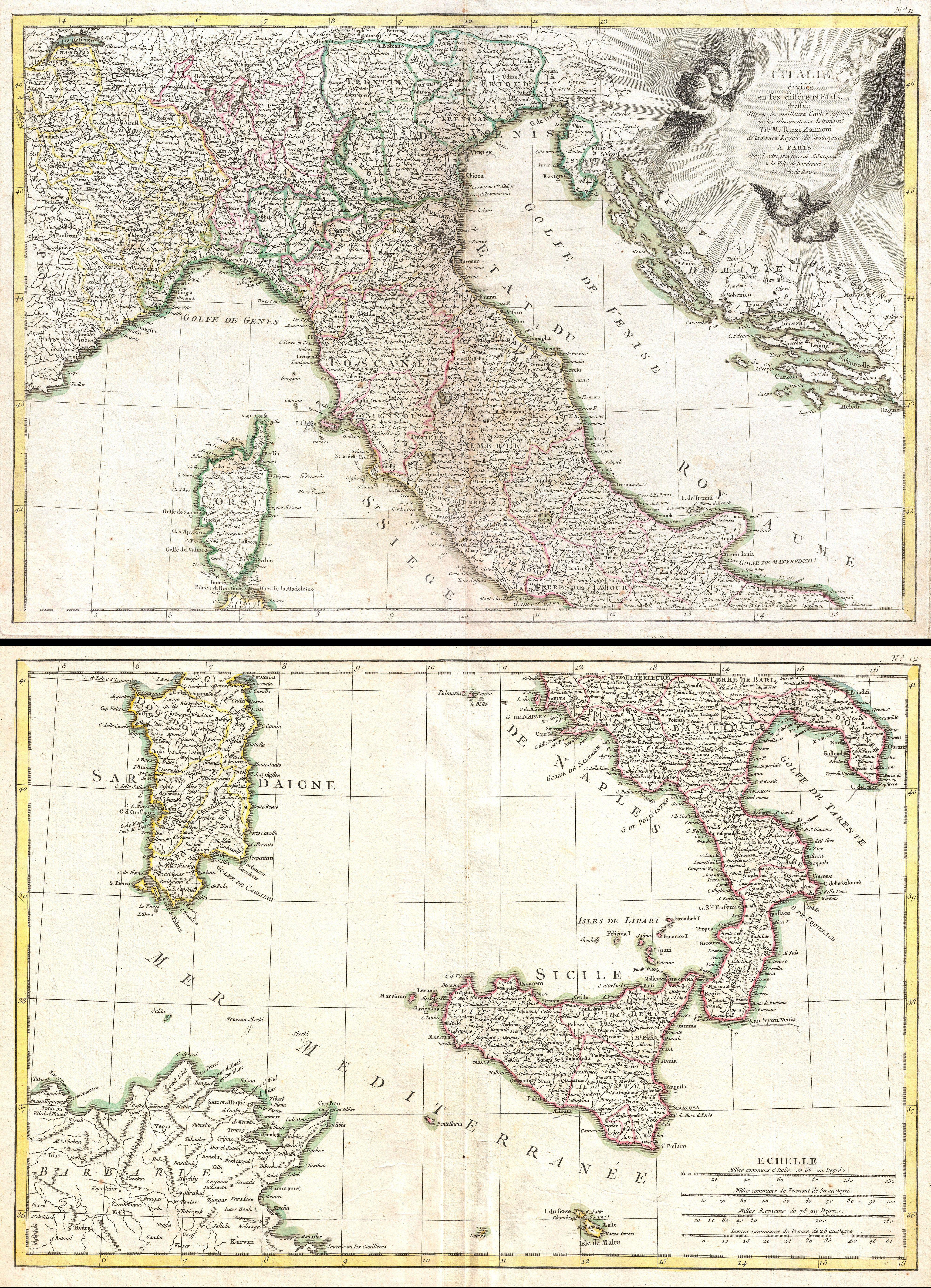 Giovanni antonio rizzi zannoni wikipedia litalie mappa del 1770 thecheapjerseys Choice Image