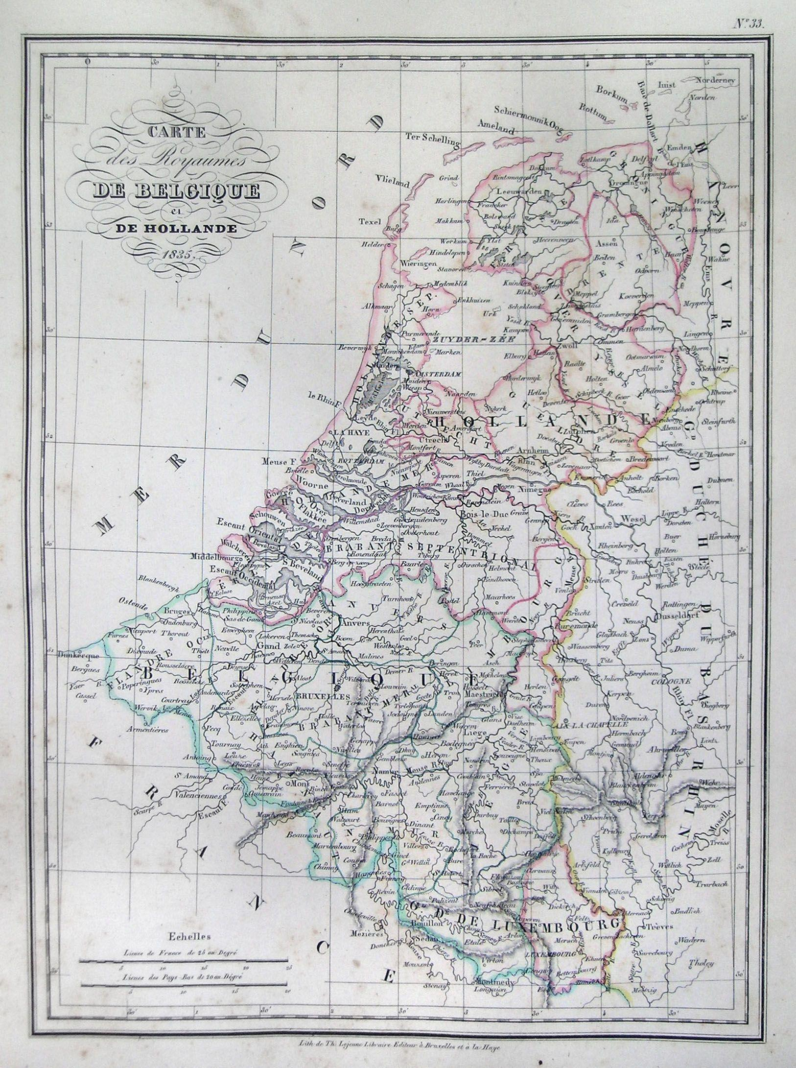 file1835 malte brun map of belgium and holland or the netherlands geographicus