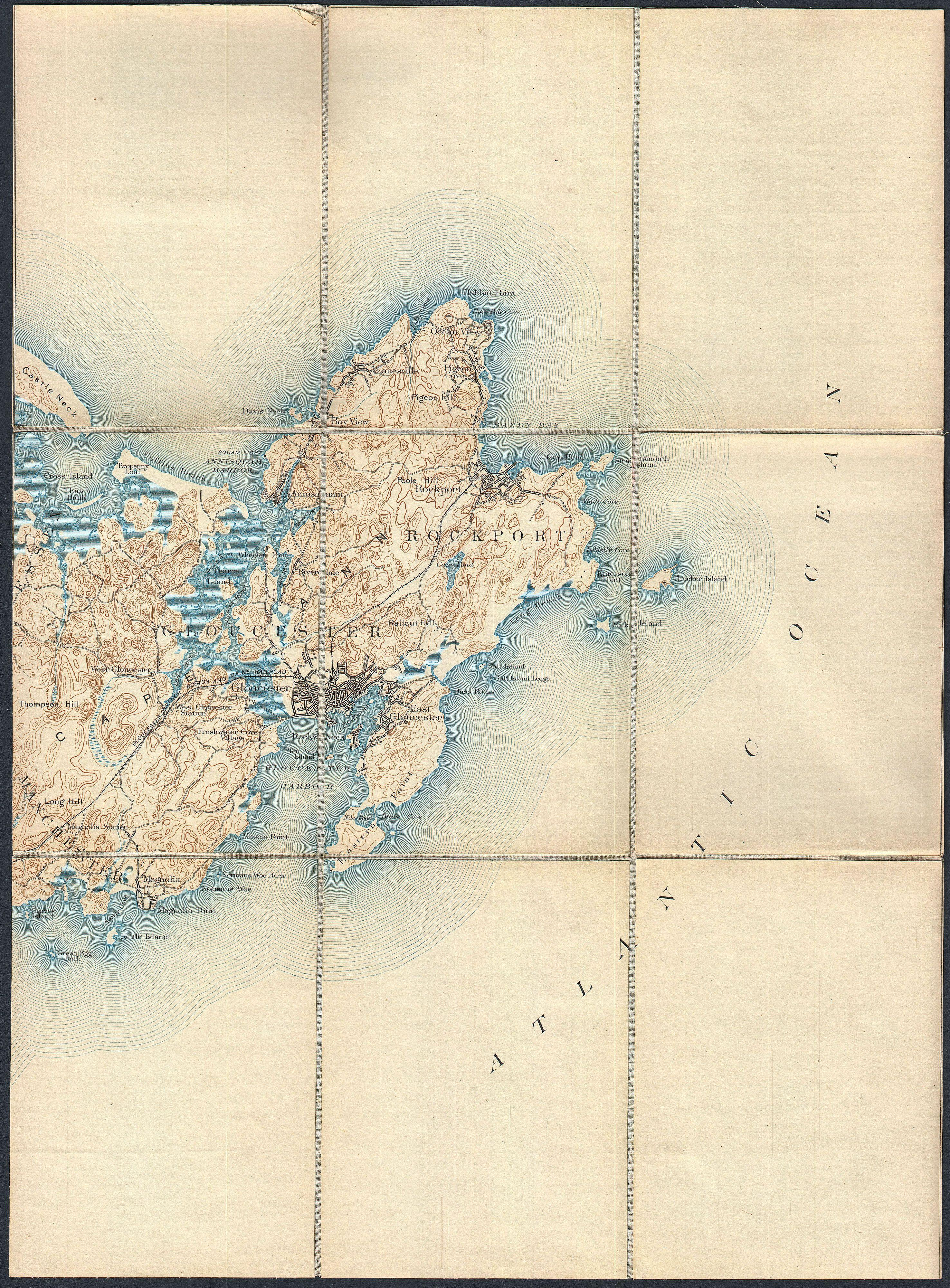 File1887 Pocket Map Version Of The Us Geological Survey Map Of - Us-geologic-survey-maps