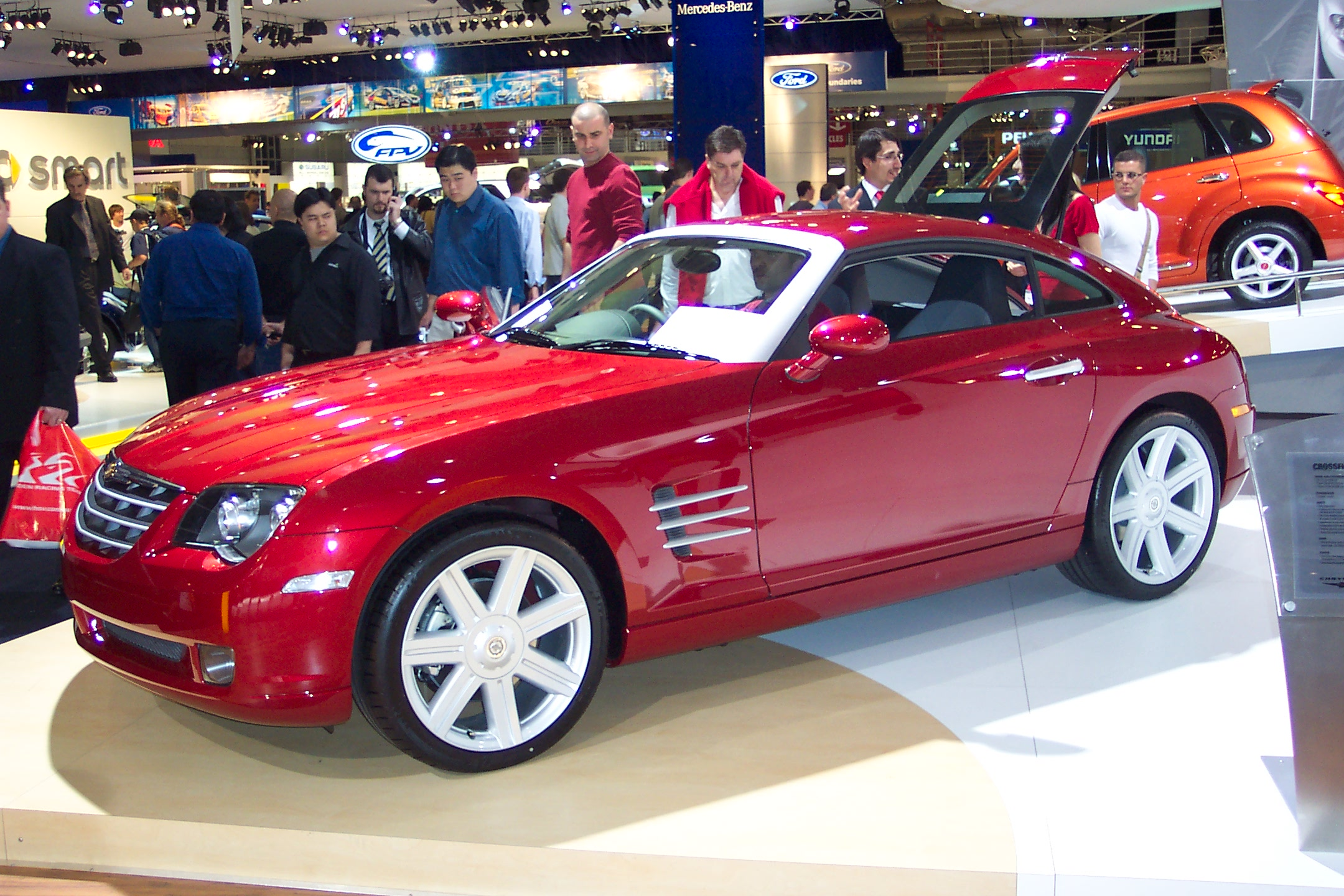 chrysler for wrecked sale damaged crossfire repairable