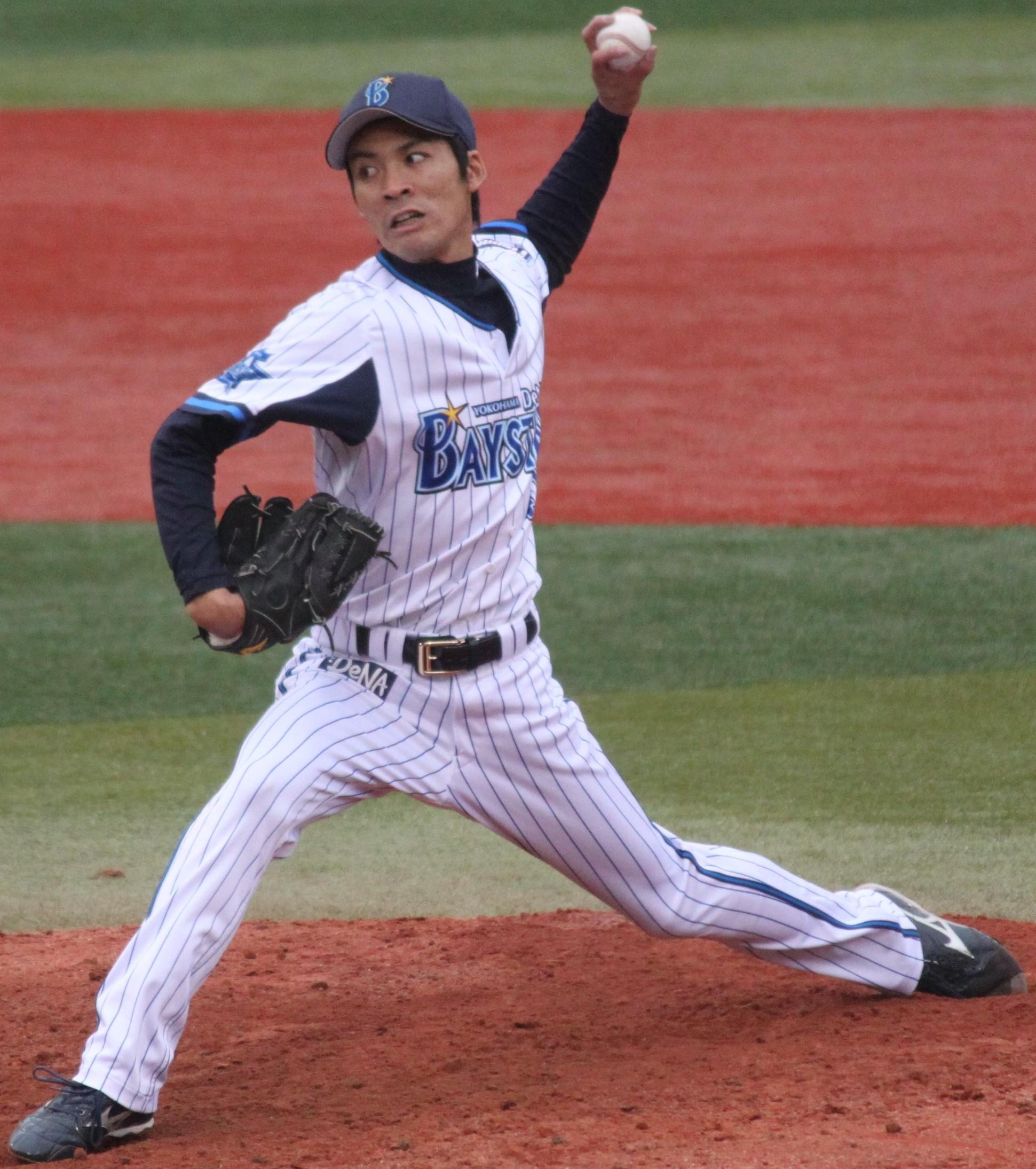 20130421: ファイル:20130421 Shinji Ohara, Pitcher Of The Yokohama DeNA