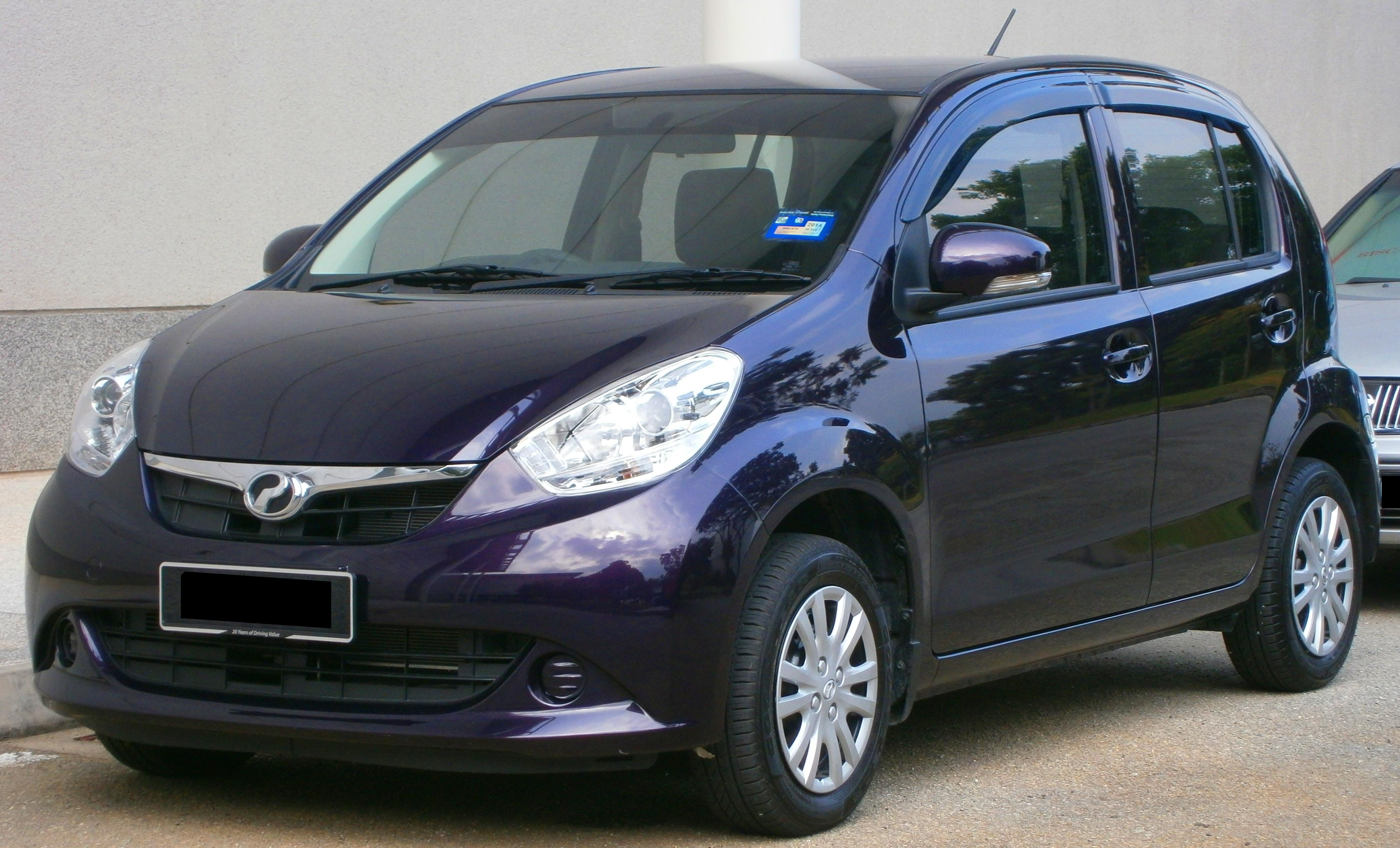 File:2013 Perodua Myvi Standard in Cyberjaya, Malaysia (01 ...