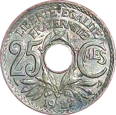 Fichier25 Centimes 1922 Rspng Wikipédia