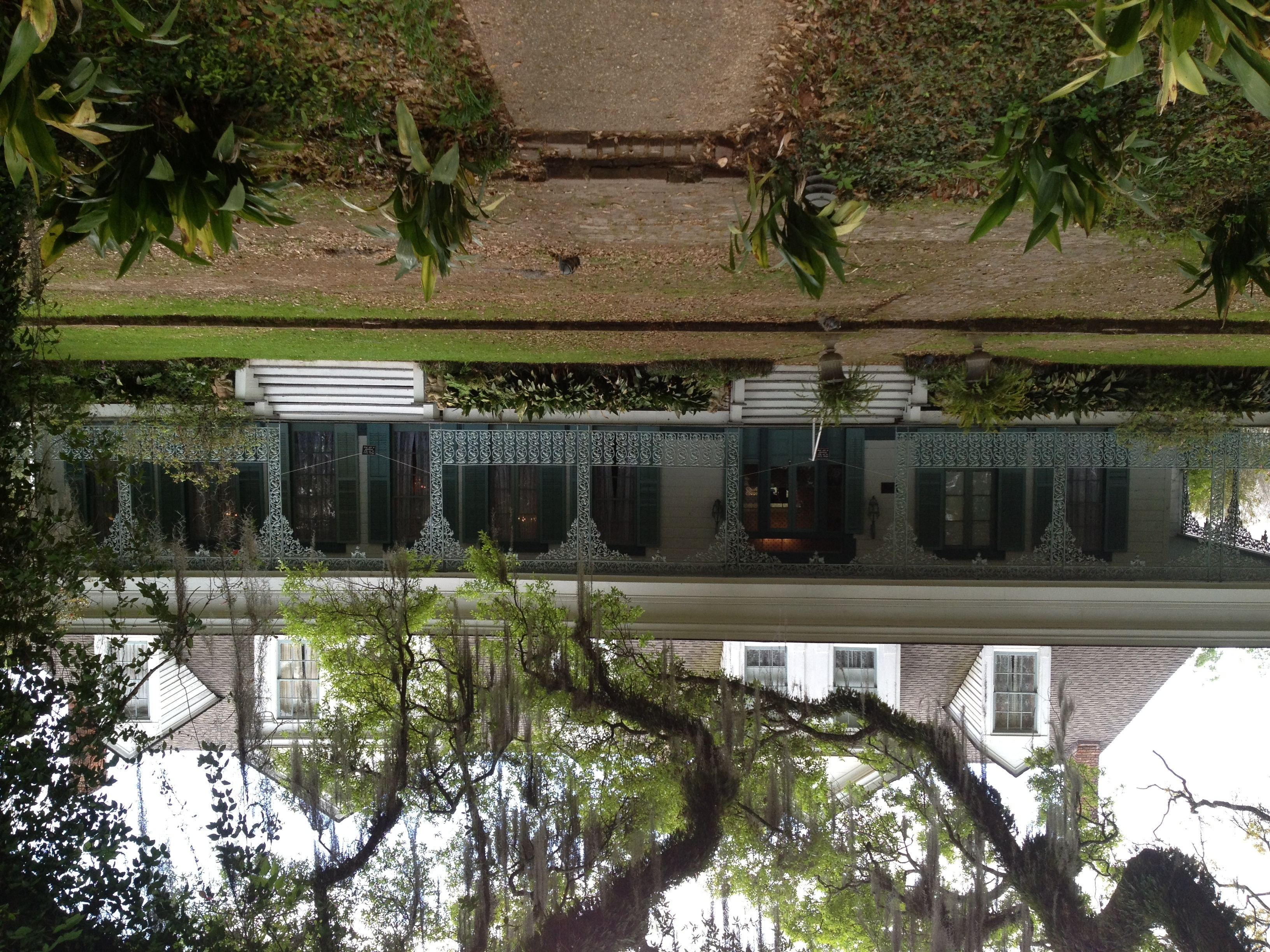 Original Artwork Myrtles plantation mirror