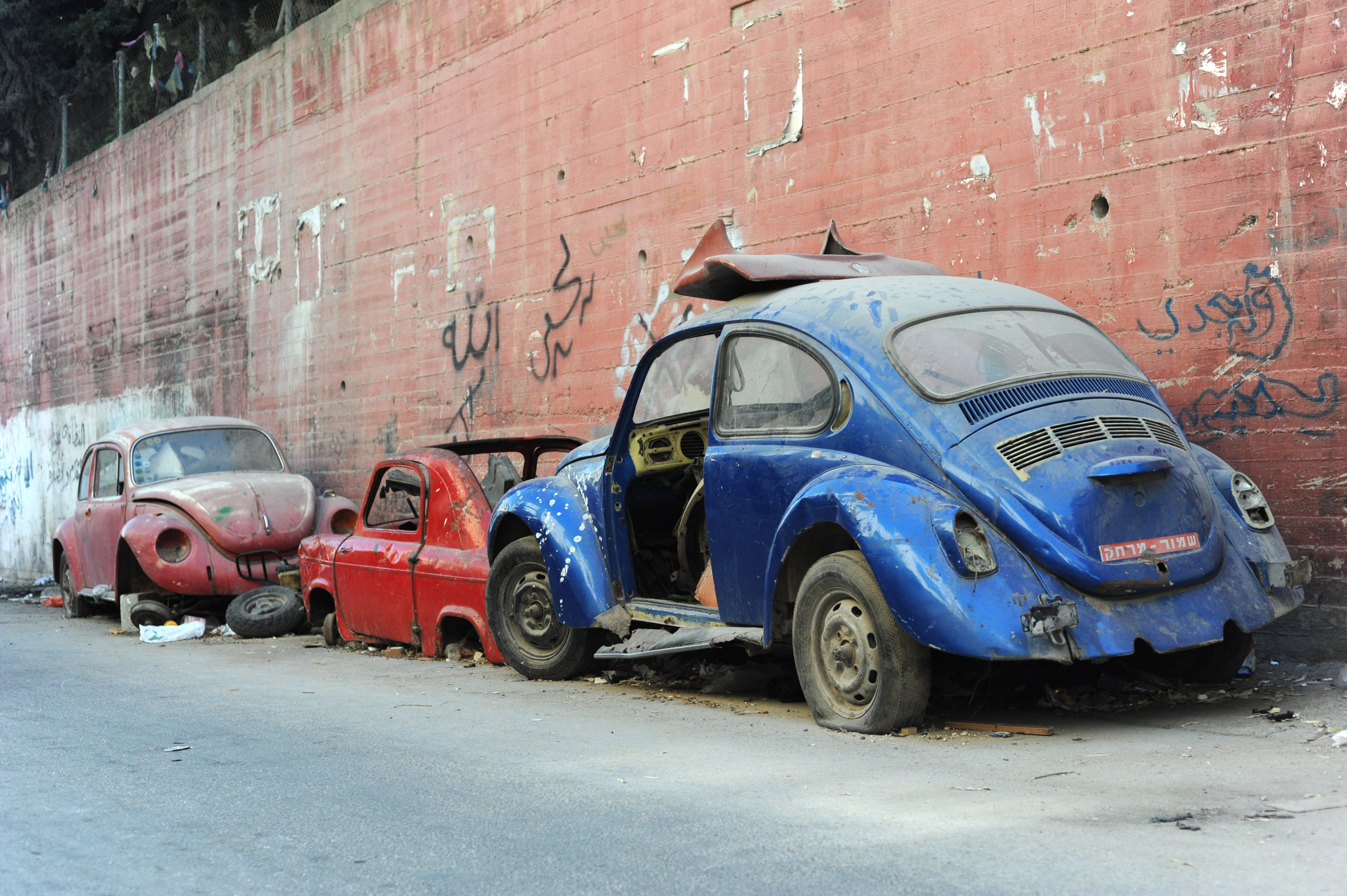 File Abandoned Beetles Near The Balata Refugee Camp